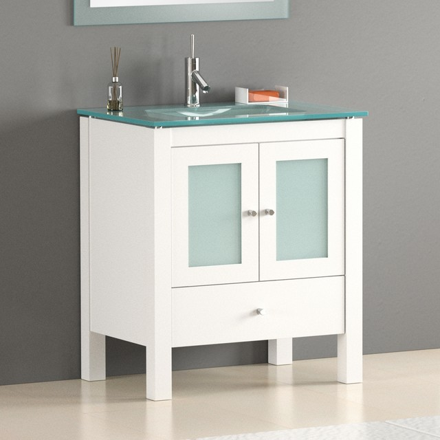 30 quot contemporary bathroom vanity modern miami by