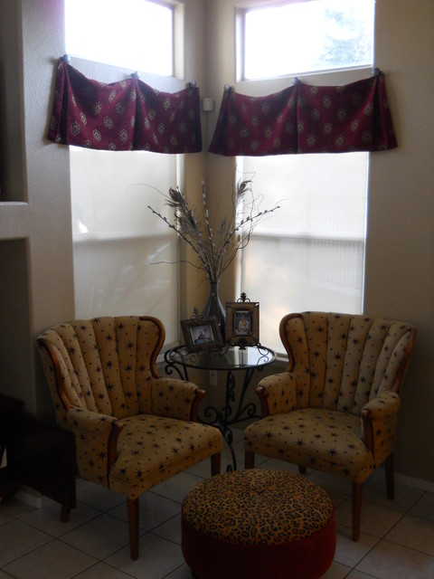 T. Olivas Sitting Area window-treatments