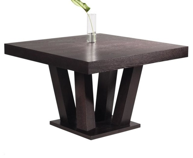 Square dining table modern dining tables by artefac for Cool kitchen tables