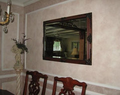 Hand Painted or Stenciled Designs traditional dining room