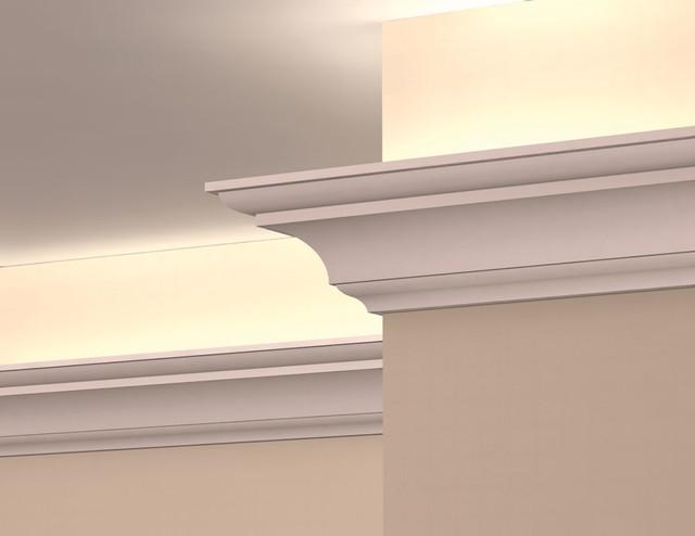 LC2002 - Interior Plaster Light Cove Crown Moulding -moulding
