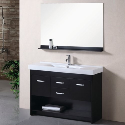 Modern Single Sink Vanity : ... Single Bathroom Vanity Set modern bathroom vanities and sink consoles