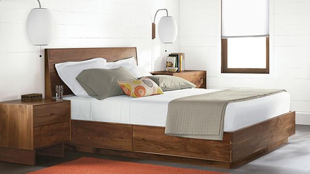 Hudson Bed by R&B modern-bedroom