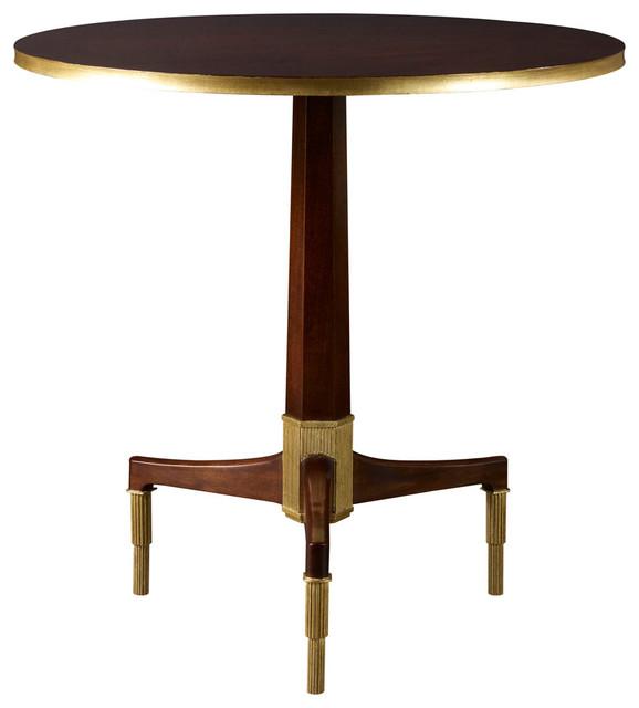 Baker Thomas Pheasant Coffee Table: Newel Side Table