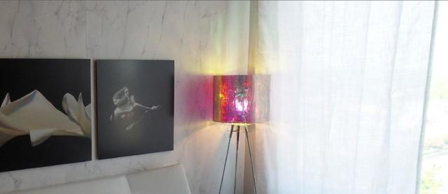 Dichroic Drum Floor lighting contemporary