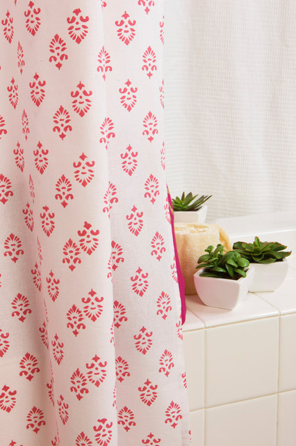 Floral Fabric Curtains Home Products on Houzz