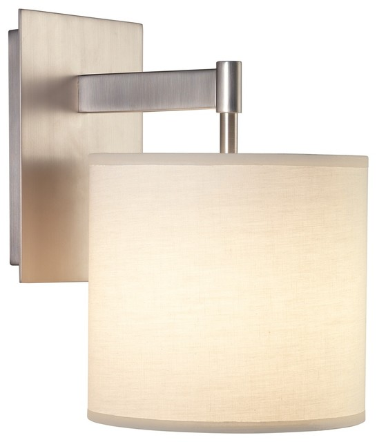 Modern Wall Sconces Plug In : Contemporary Robert Abbey Echo Plug-In Wall Sconce - Contemporary - Wall Sconces