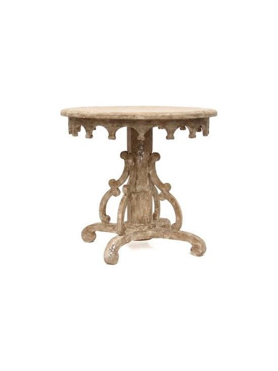 Shabby Chic Living - Bliss Studio Italian Baroque Pedestal Table