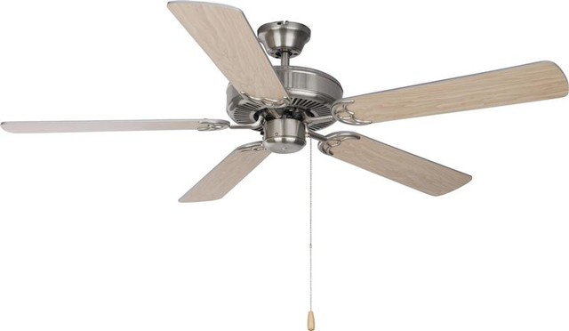 Basic Max 52 Ceiling Fan Silver Maple Blades