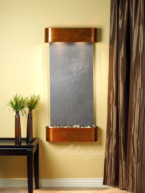 Wall Fountains modern-indoor-fountains