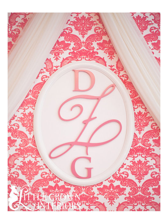 Little Crown Interiors - Custom Wood Wall Monogram - Custom Wood Wall Monogram