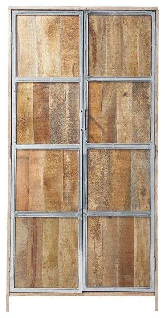 Taiga armoire rustic armoires and wardrobes by - Armoire maison du monde occasion ...