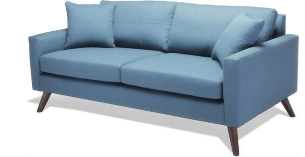Dane Loveseat Sofa-Calvin Charcoal midcentury-sofas