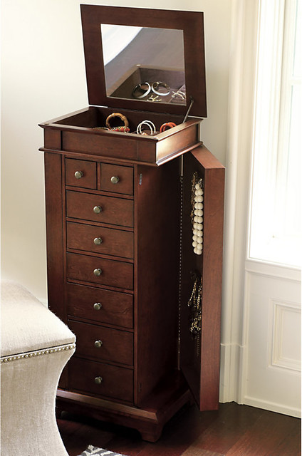 Stratford Jewelry Chest traditional-dressers