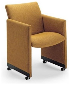 MIchigan Panel Chair by Geoffrey Harcourt modern-living-room-chairs
