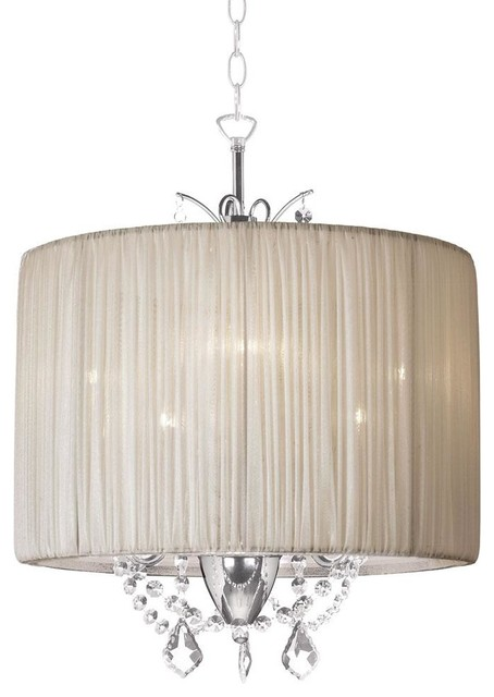 Drum Shade Chandelier Giant Drum Shade Pendant For 13