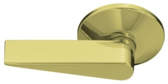 KOHLER K-9462-SN Devonshire Trip Lever in Polished Nickel traditional-bathroom-faucets-and-showerheads