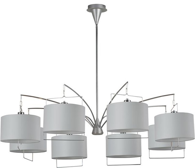ET2 Lighting E22317-01 8 Light Chandelier Passion Collection contemporary-chandeliers