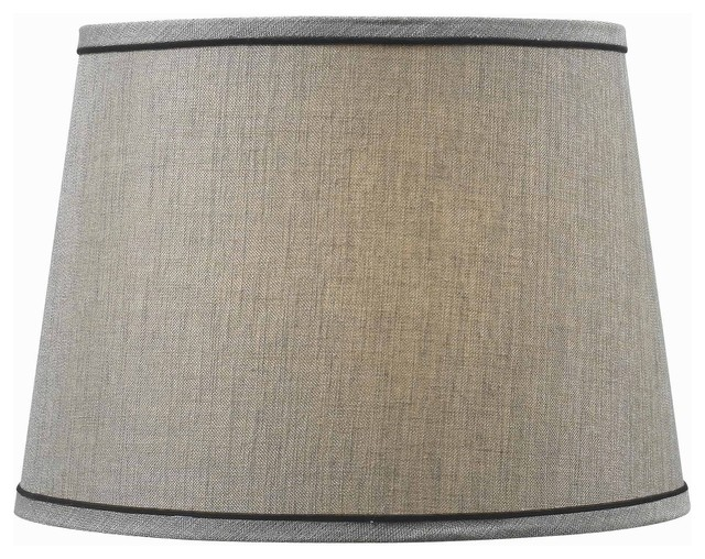 Design match 15 inch silver tapered drum shade for 15 inch window blinds