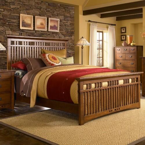 Artisan Ridge Slat Bed modern-beds
