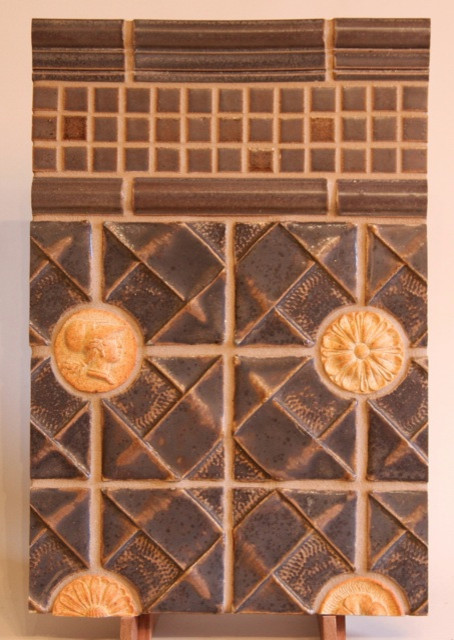 Handcrafted Ceramic Tile eclectic