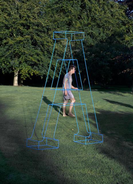 Outdoor Garden Letters garden-sculptures