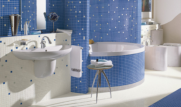 Jasba Tile M2 mediterranean bathroom tile