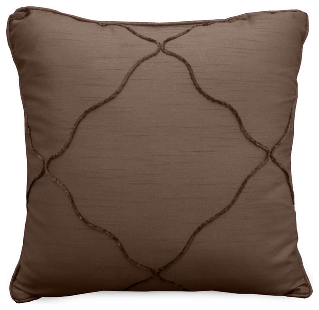 Veratex Diamonte Throw Pillow contemporary-decorative-pillows