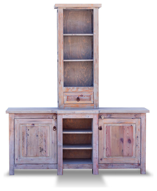 Double Sink Rustic Vanity 14400 80x20x32 Rustic bathroom cabinets and shelves
