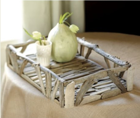Driftwood Tray beach-style-serving-dishes-and-platters