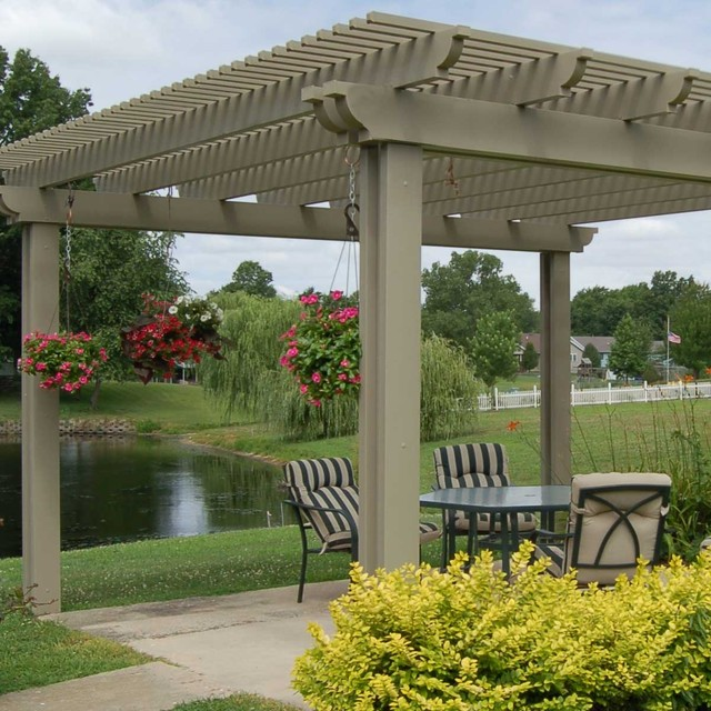 Pergola Backyard America : Pergolas and Arbors traditionalgazebos