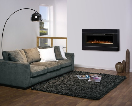 Dimplex Cohesion in black with BLF50 fireplace - Jeanne Grier/Stylish Fireplaces & Interiors