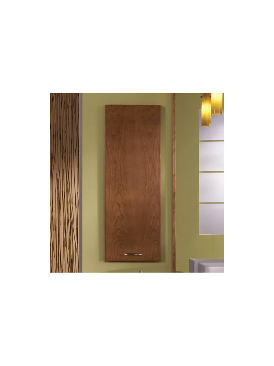 Recessed Wall Cabinet - A Recessed Wall Cabinet is an unobtrusive place to store towels and other bathroom necessities at a comfortable and convenient height.