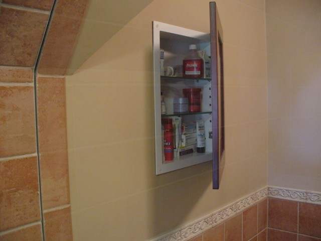Recessed Picture Frame Medicine Cabinets with No Mirrors - Bathroom ...