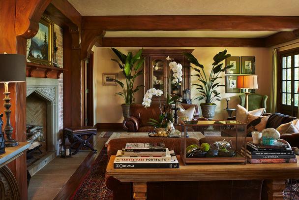 Bainbridge island residence traditional living room - Interior design bainbridge island ...