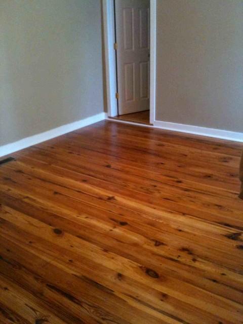 Antique heart pine character grade hardwood flooring for Antique pine flooring