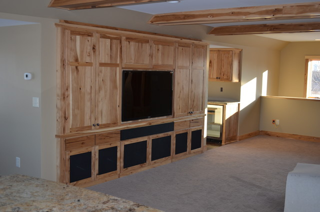 Man Cave traditional-family-room