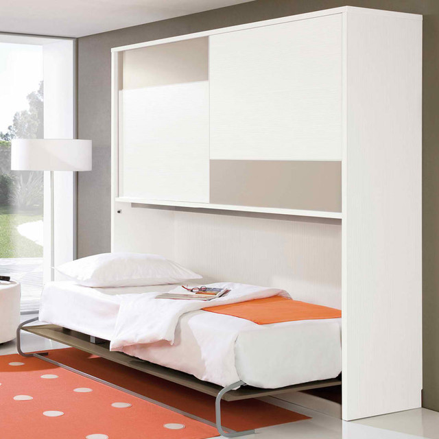CR1340 Murphy Bed with Wardrobe modern-beds