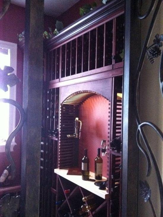 Forge Iron Designs Wine Cellar Doors -