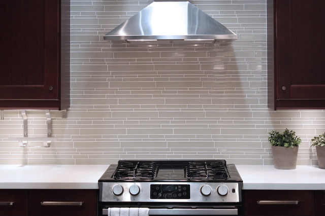 contemporary kitchen tile