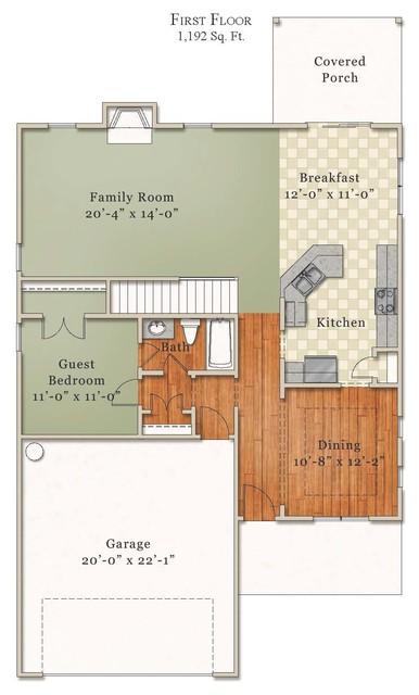 Carter floor plan raleigh by mckee homes for Carter home designs