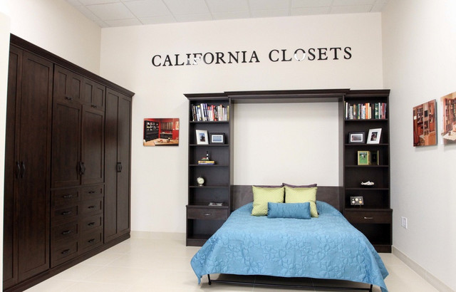 wardrobe wall bed contemporary detroit by california closets michigan. Black Bedroom Furniture Sets. Home Design Ideas