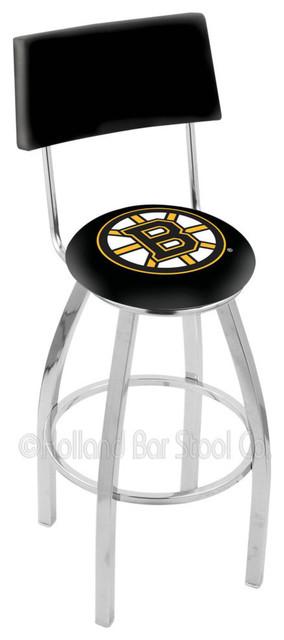 Holland Bar Stool L8c4 Chrome Boston Bruins Swivel Bar Stool