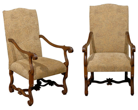 Current Inventory for Purchase - Pair of Louie XV style chairs