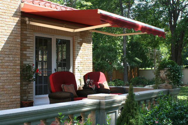 Overhead Door Company: Awnings and Solar Shading 316-265-4634 traditional-deck