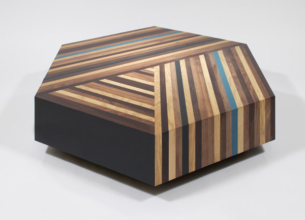 Parquetry Coffee Table contemporary-coffee-tables