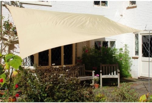 Kookaburra 9.8-ft. Waterproof Rectangle Shade Sail - Modern ...