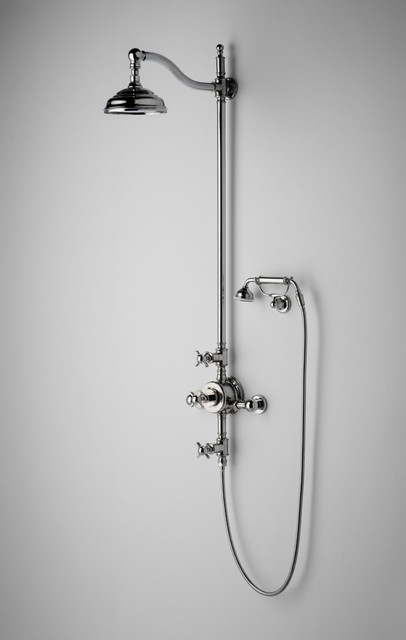 Waterworks Exposed Thermostatic System traditional-bathroom-faucets-and-showerheads