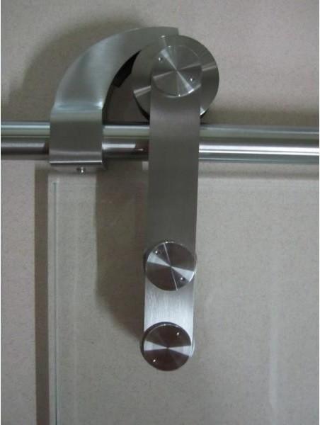 Barn door hardware for glass doors - Modern - Barn Door ...