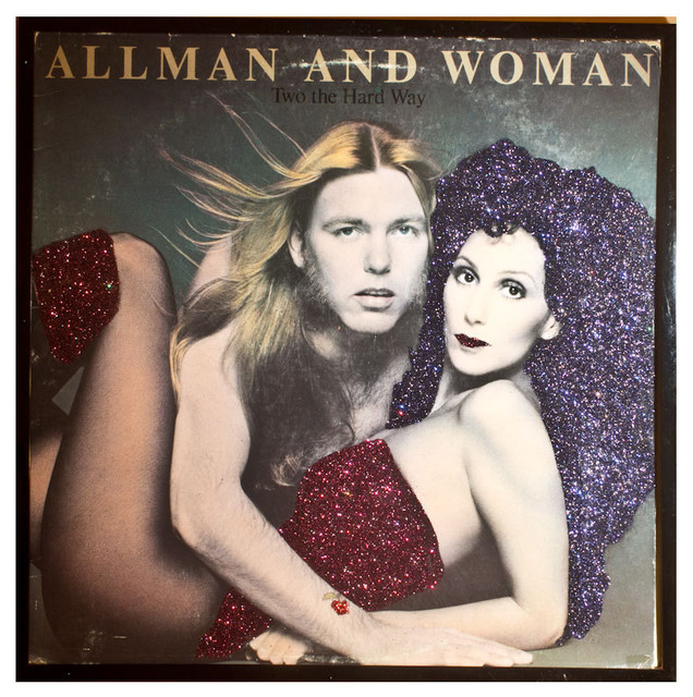 Glittered Cher Allman and Woman Album - Eclectic - Game ...